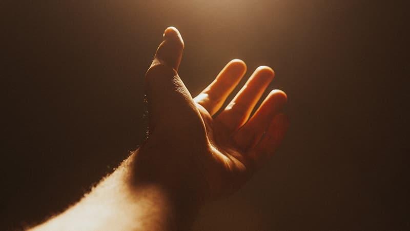 Kata Mutiara Doa dan Harapan - Tangan Cahaya
