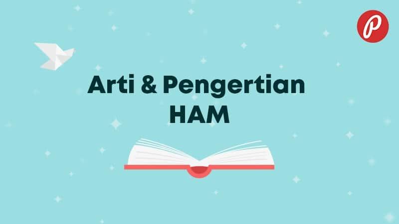 Arti & Pengertian HAM - HAM