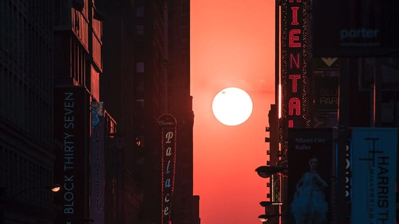 Sunrise di Tengah Kota
