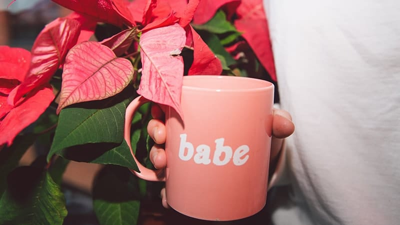 Kata-Kata Rayuan Gombal Romantis buat Gebetan - Mug Peach