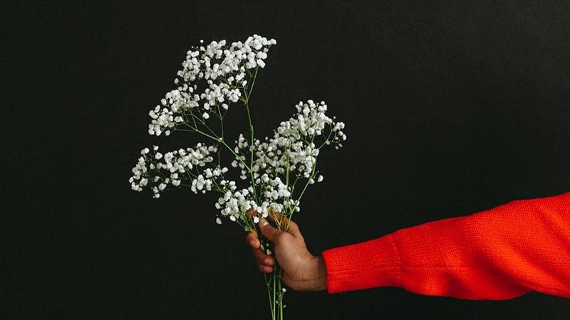 Memberikan Bunga
