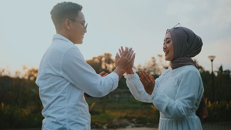 Kata Cinta untuk Suami dalam Islam - Pasangan Muslim