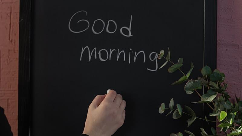 Tulisan Selamat Pagi