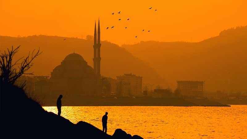 Kata-Kata Sabar Islami - Suasana Senja