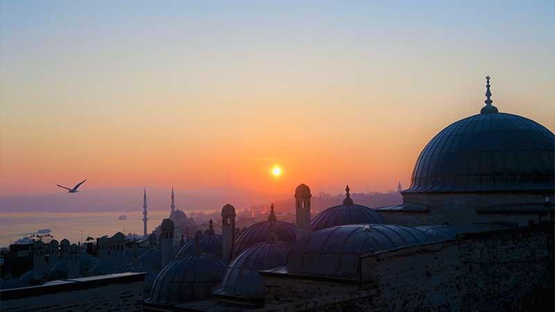 Kata-Kata Sabar Islami - Pemandangan Masjid