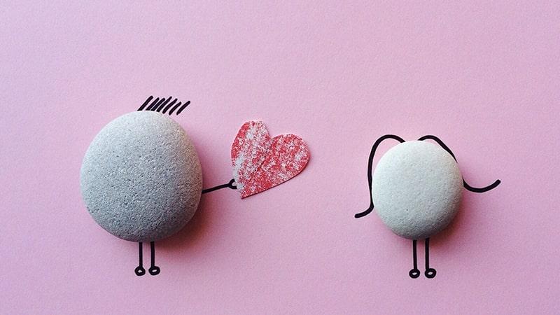 Kata-Kata Bucin Singkat - Ilustrasi Cinta