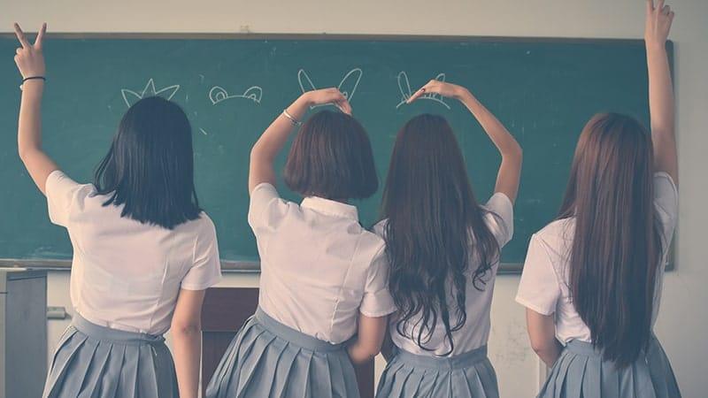 Kata-Kata untuk Teman Sekelas Sekolah - Empat Sahabat