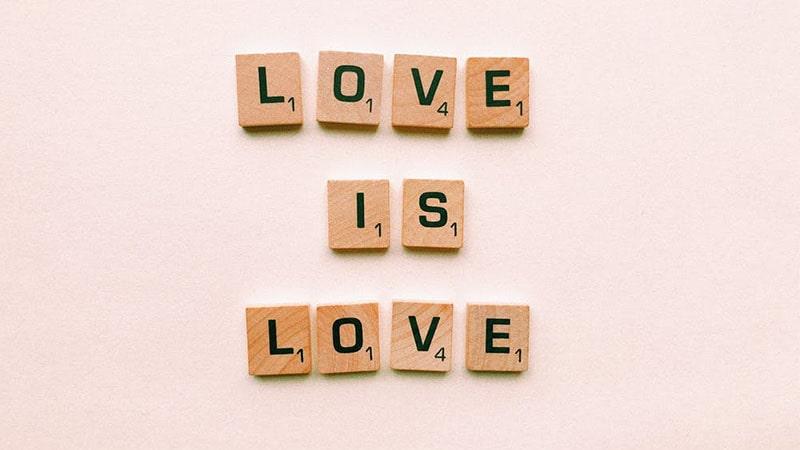 kata-kata cinta romantis - love