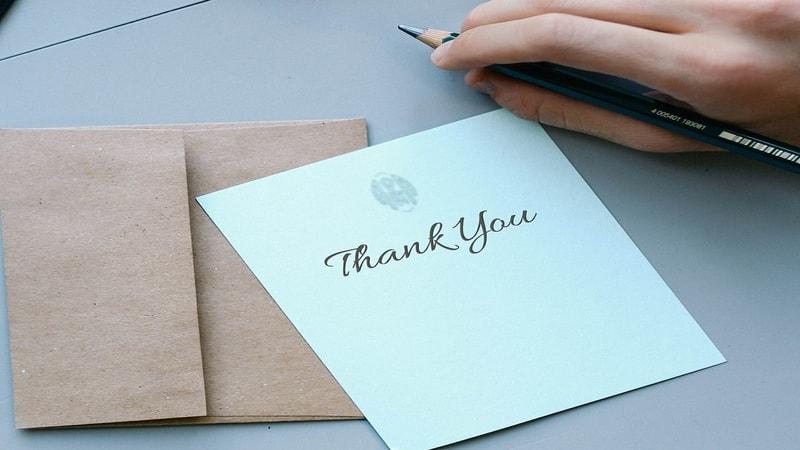 Ucapan Makasih buat Teman - Surat dan Amplop