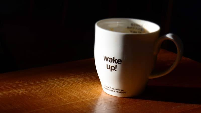 Gelas Wake Up