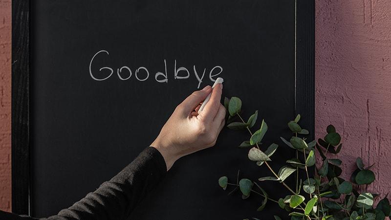 Kata-Kata Perpisahan untuk Kekasih yang Pergi - Goodbye