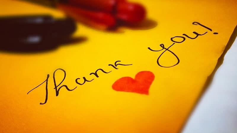 Ucapan Terima Kasih untuk Orang yang Menyayangi Kita - Thank You
