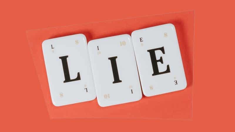 Kata-Kata Sakit Hati dan Kecewa karena Dibohongi - Lie