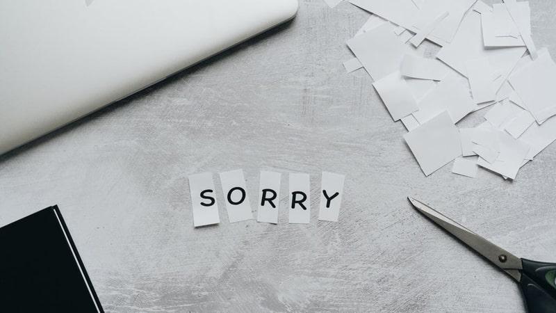 Kata Kata Minta Maaf Menyentuh Hati - Maaf