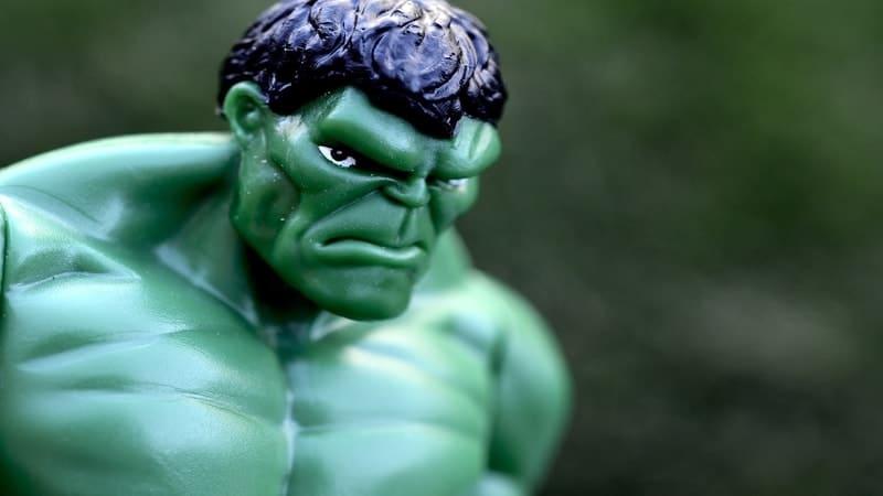 Quote Tahan Emosi - Figur Hulk
