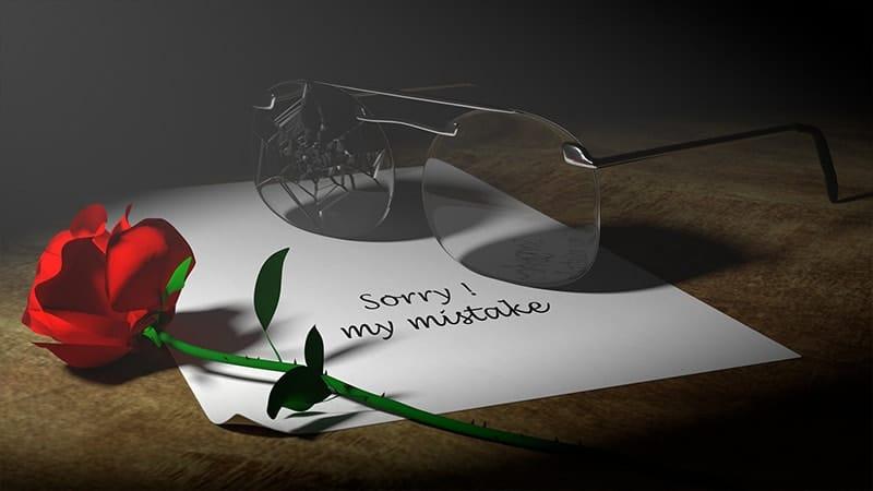Kata-Kata Minta Maaf atas Kesalahan Selama Ini - Bunga Mawar