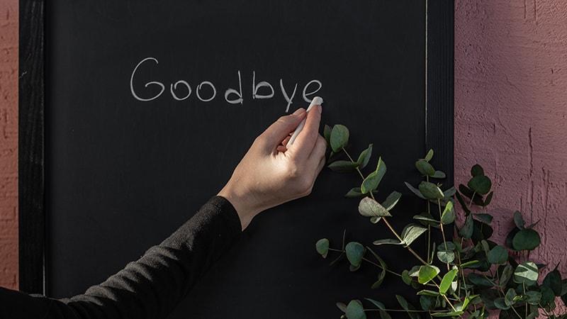 kata-kata ucapan perpisahan - goodbye