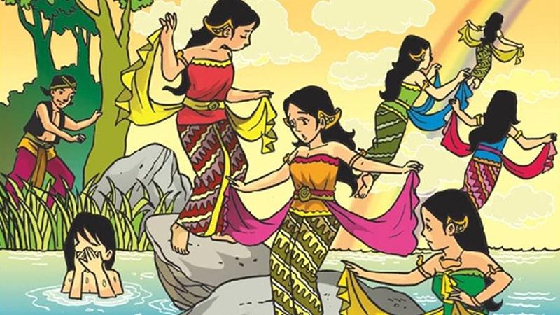 Cerita Rakyat Jaka Tarub - Kisah Tujuh Bidadari
