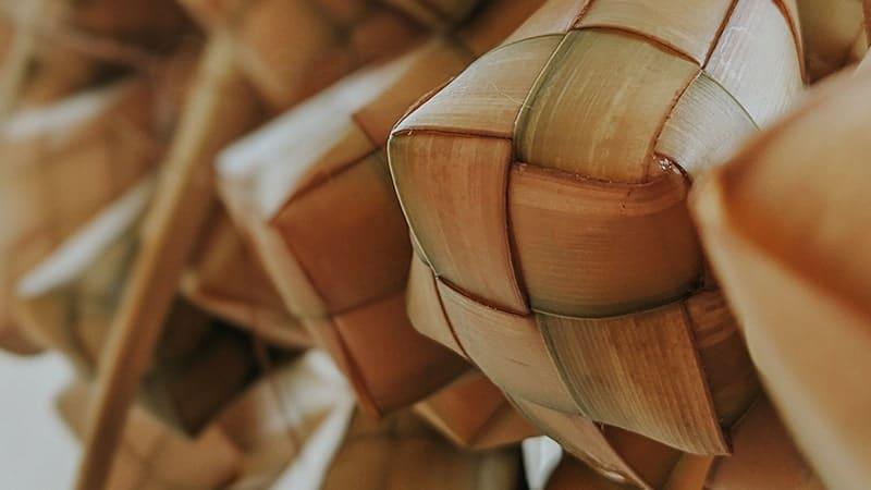 Ucapan Selamat Hari Raya Idul Fitri Bahasa Jawa - Ketupat