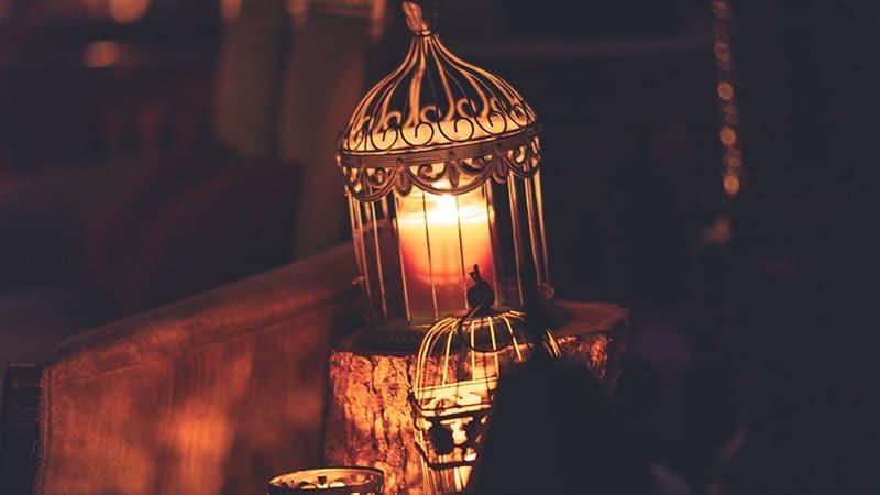 Ucapan Selamat Hari Raya Idul Fitri Bahasa Arab - Lilin