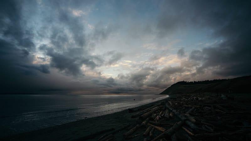 Kata-Kata tentang Mendung - Pantai