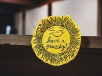 Kata-Kata Hari Senin - Stiker Matahari