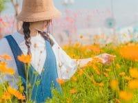 Kata-Kata Positif untuk Diri Sendiri - Wanita di Taman