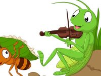 Cerita Semut dan Belalang - Semut dan Belalang