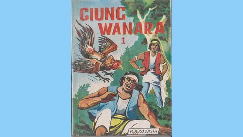 Cerita Legenda Ciung Wanara - Buku Komik