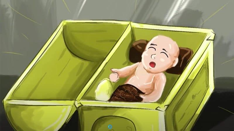 Cerita Legenda Ciung Wanara - Bayi