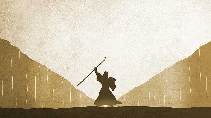 Mukjizat Musa - Keajaiban Sebuah Tongkat