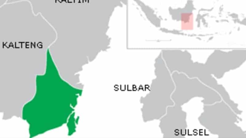 Lokasi Kalimantan Selatan