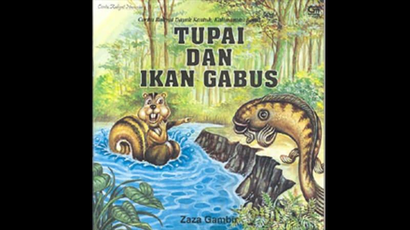 Cerita Fabel Tupai dan Ikan Gabus - Buku Cerita
