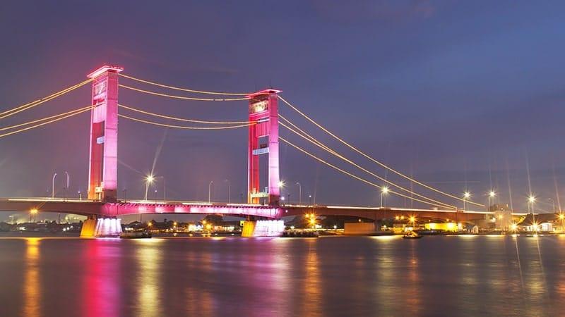 Cerita rakyat Sumatra Selatan - Jembatan Ampera