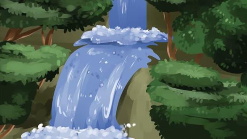 Ilustrasi Air Terjun