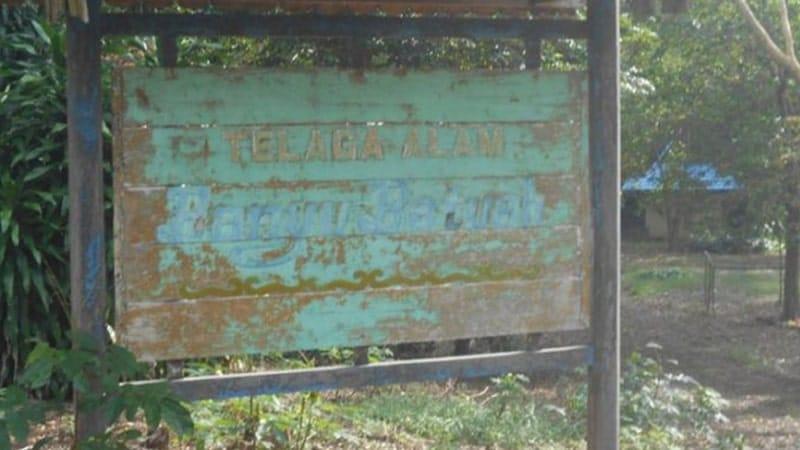 Legenda Telaga Alam Banyu Batuah - Papan Nama