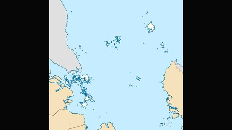 Cerita Rakyat Si Jangoi - Peta Kepulauan Riau