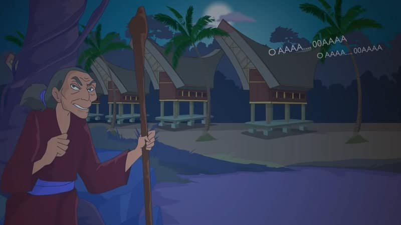 Cerita Rakyat Sulawesi Selatan Nenek Pakande - Nenek Pakande