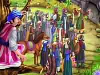 Kisah Ali Baba dan 40 Pencuri - Ali Baba dan Para Pencuri