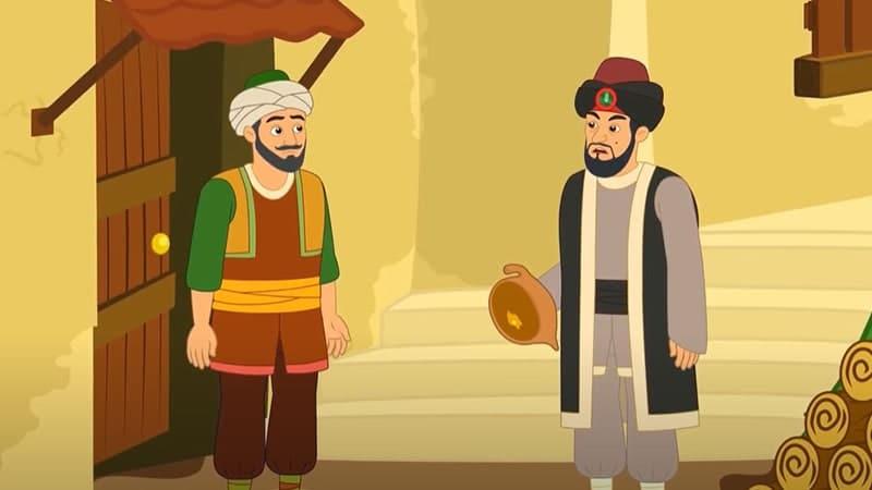 Kisah Ali Baba dan 40 Pencuri - Ali dan Kasim
