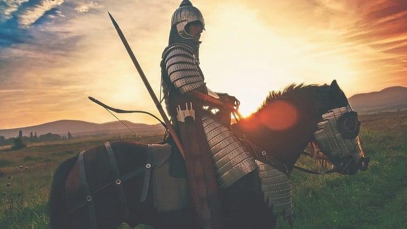 Kisah Nabi Daud Melawan Jalut - Ilustrasi Prajurit Perang