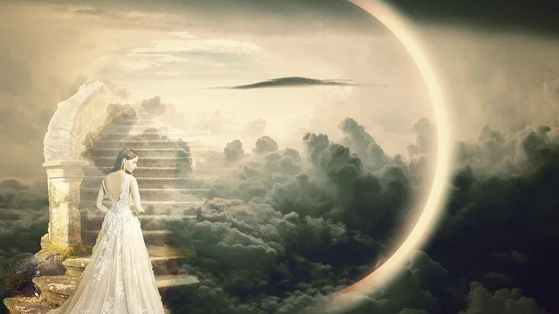 Kisah Mukjizat Nabi Idris - Ilustrasi Surga