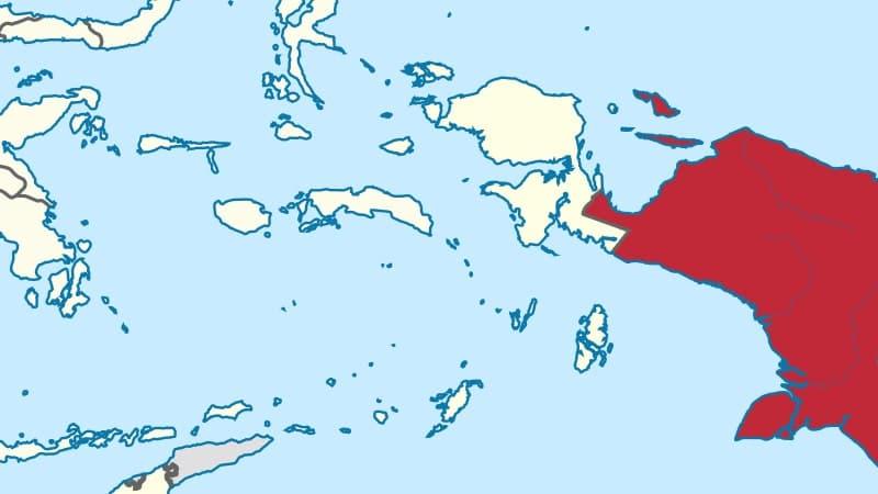 Asal Usul Burung Cendrawasih - Peta Papua