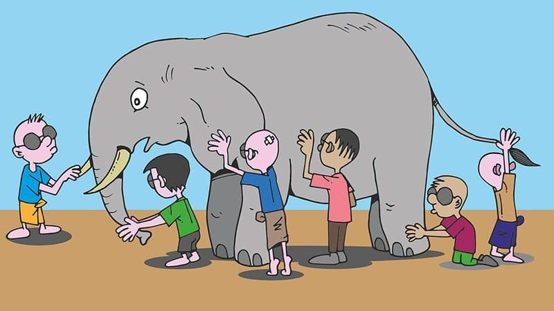 Dongeng Gajah yang Baik - Gajah dan Manusia