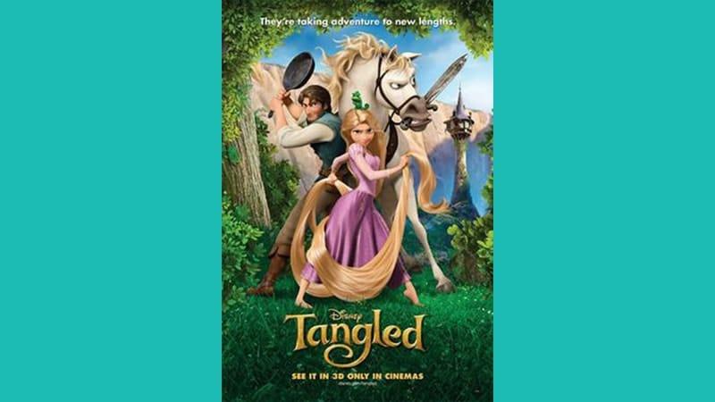 Cerita Dongeng Rapunzel - Poster Film