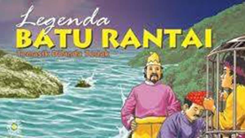 Cerita Legenda Batu Rantai Kepulauan Riau - Cover Buku