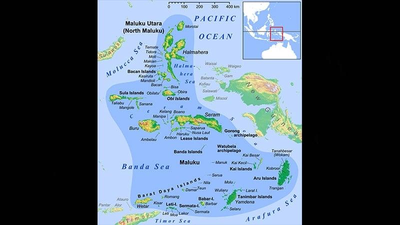 Peta Maluku