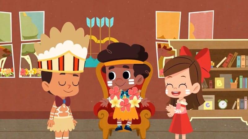 Caadara Cerita Rakyat dari Irian Jaya - Animasi