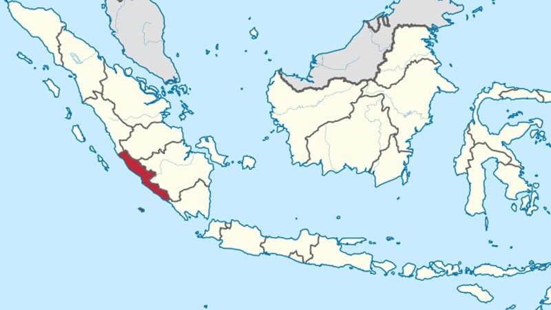 Cerita Rakyat Bengkulu Danau Dendam Tak Sudah - Peta Bengkulu