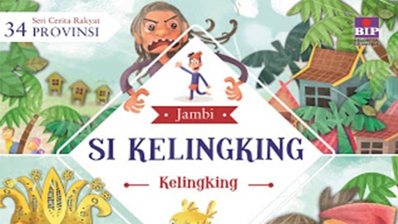 Cerita Rakyat Jambi Si Kelingking - Cover Buku